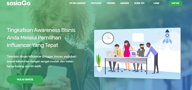 Mau Tahu Cara Baru Mendapatkan Uang Dari Blog atau Akun Medsos Kamu? Coba SOSIAGO Influencer Marketing Saja!