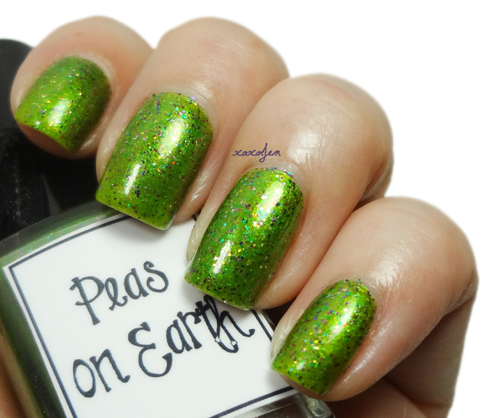 xoxoJen's swatch of Peas On Earth