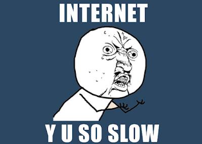 Koneksi Internet Cenderung Tidak Stabil