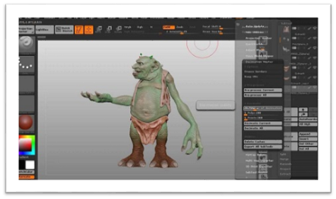 Zbrush 3D printing software
