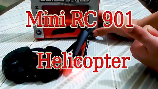 فتح علبة Mini RC 901 Helicopter من موقع Gearbest