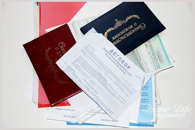 Организация документов