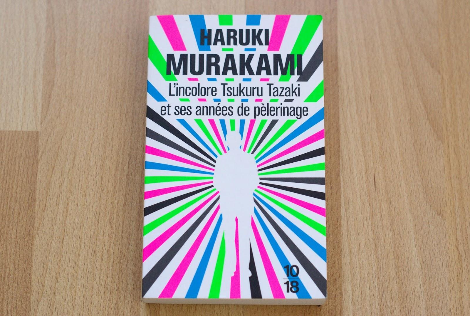 tsukuru tazaki haruki murakami livre book 10 18