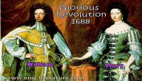 What is Glorious Revolution of 1688? What is its significance on English Society?