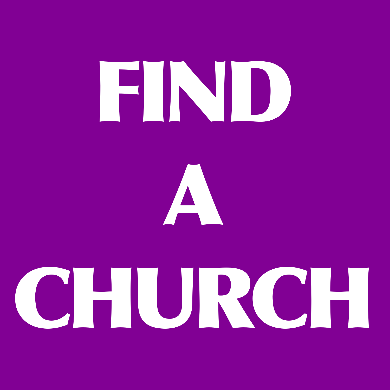FIND A CHURCH