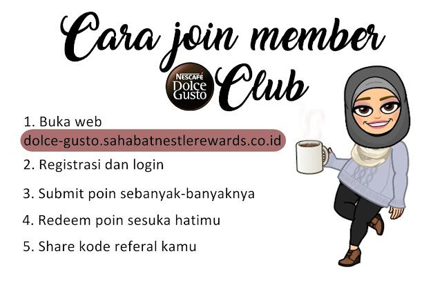 daftar Nescafe Dolce Gusto Club