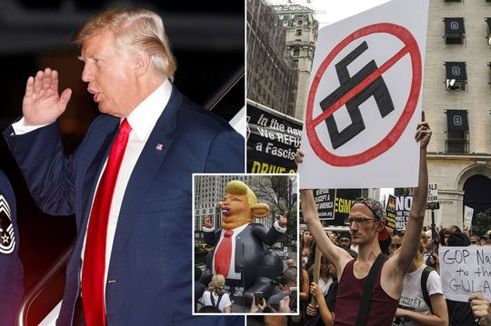 donald trump racist refusing condemn white supremacists