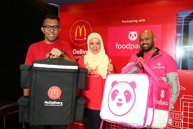 McDonald's Malaysia luaskan rangkaian McDelivery selaras dengan potensi pertumbuhan dalam khidmat penghantaran