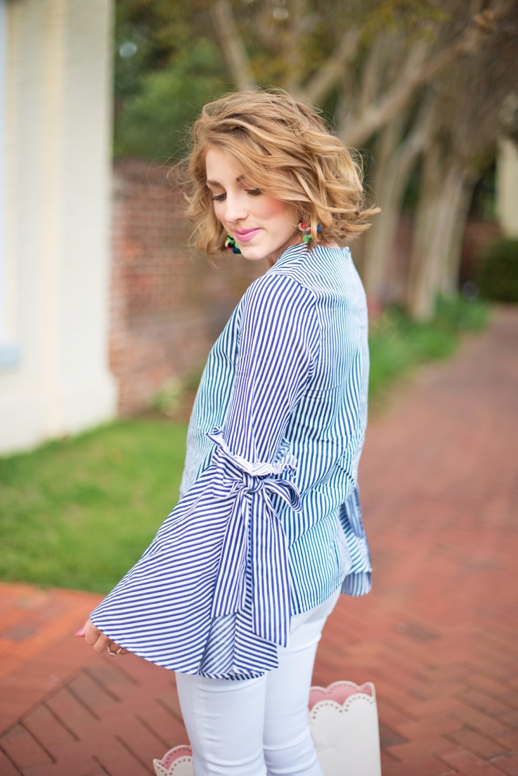 Bell Sleeves - See more on Something Delightful Blog