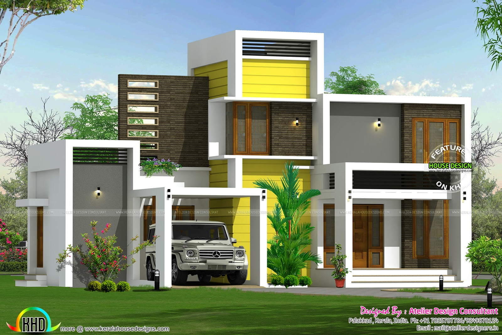 16 lakhs house plan architecture kerala home design and for Modern kerala style house plans with photos