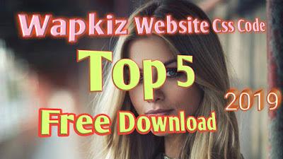 Top 5 Wapkiz Website Css Code Free Download  2019 By SqlHackerz.Com
