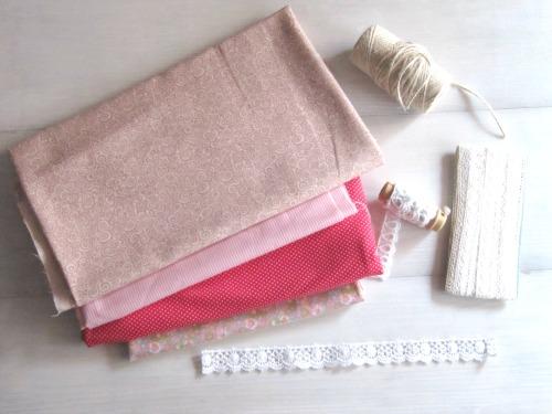Materiales para hacer una Guirnalda Shabby Chic