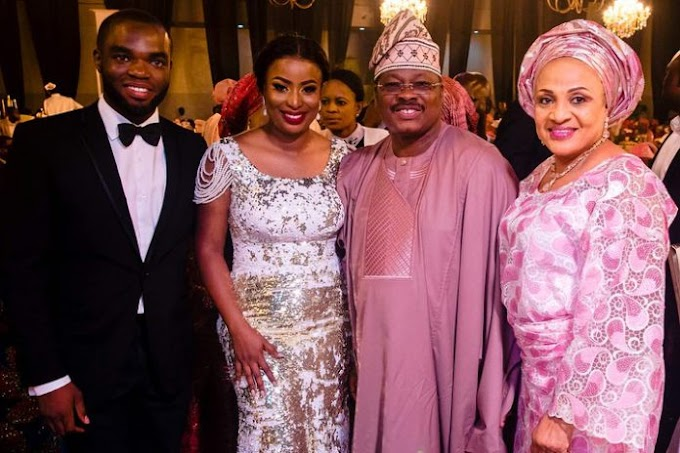 News In Pictures: Dangote, Otedola, others storm wedding of Former Deputy Gov. Orelope-Adefulire's Daughter