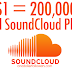 Buy 200,000 SoundCloud Plays For $1