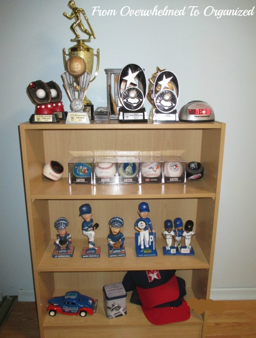Tips For Decluttering Sports Memorabilia To Display His Baseballs Much Better Than Having Them Rolling Around Like They Were Before