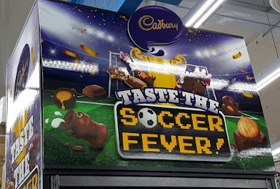 Taste the Soccer Fever! with Cadbury.