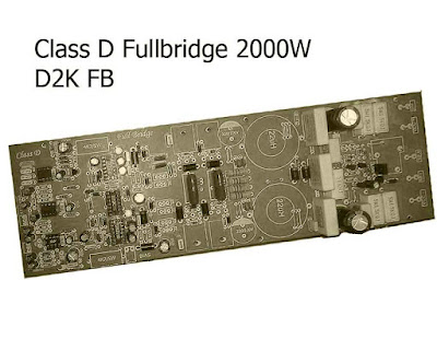 D2K Fullbridge Power Amplifier