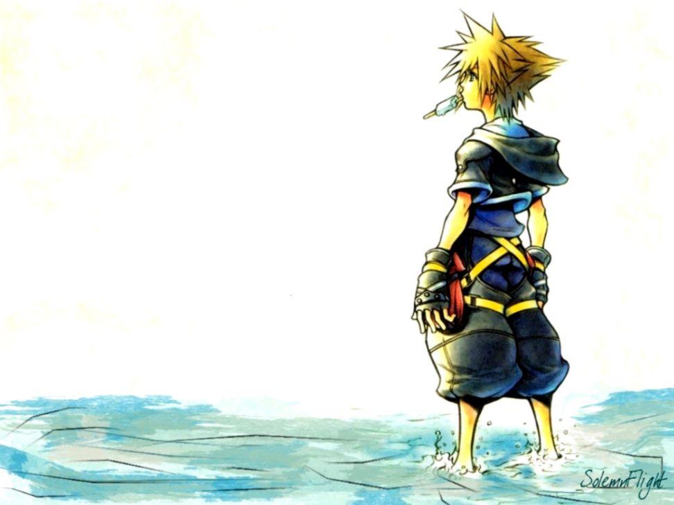 Sora Kingdom Hearts 2 Wallpaper Wallpapers Legend