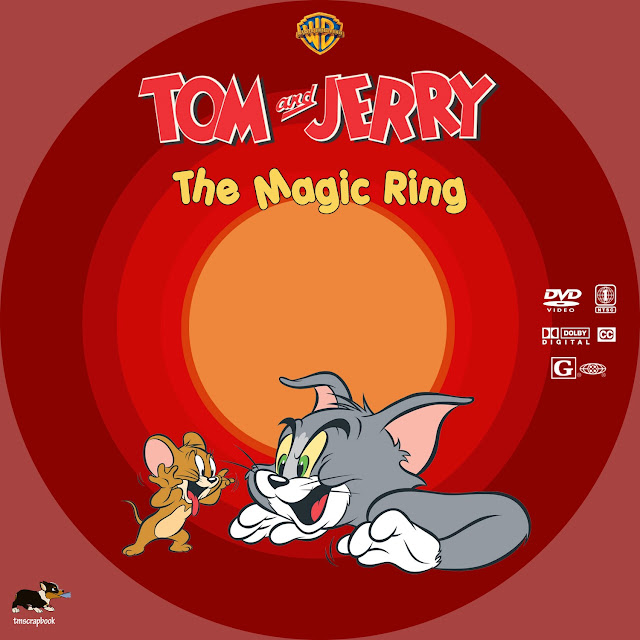 Tom and Jerry: The Magic Ring DVD Label