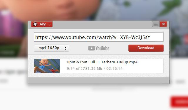 Download Video Youtube dengan Airy Youtube Downloader