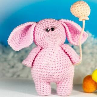 Amigurumi Patrón Premium: Elefante Haru - Tarturumies | 320x320