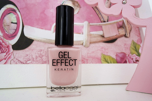 Esmalte Gel Effect Keratin: Pearl Rose Bellaoggi Hinode rose quartz