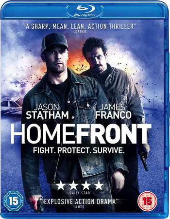 Poster Of Homefront 2013 Dual Audio 720p BRRip [Hindi - English] - Uncut Free Download Watch Online