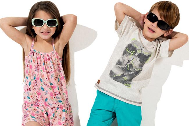 Ropa de moda para niños y niñas primavera verano 2018.