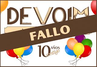 Banner del Fallo de los Sorteos del 10º Aniversario