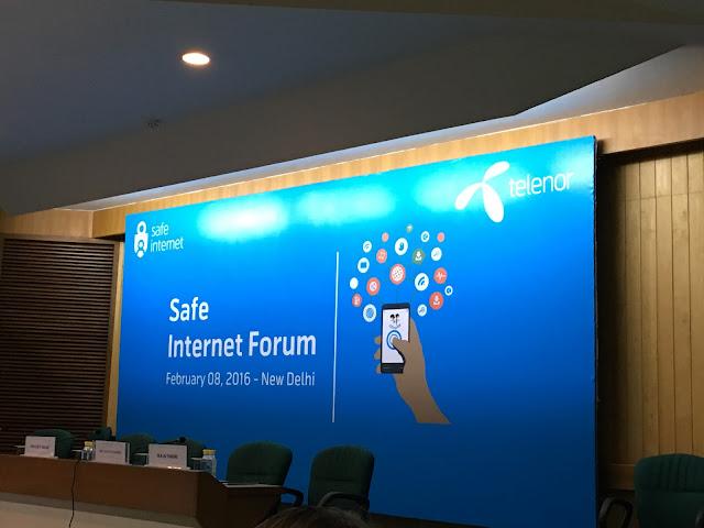 Telenor promotes safe Internet practices at Safe Internet Forum organised in New Delhi