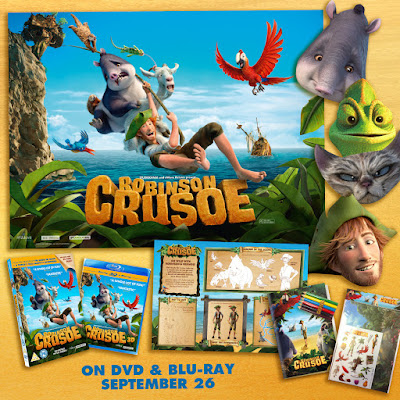 Competition: Win 1 of 3 Robinson Crusoe DVD Goodie Bags