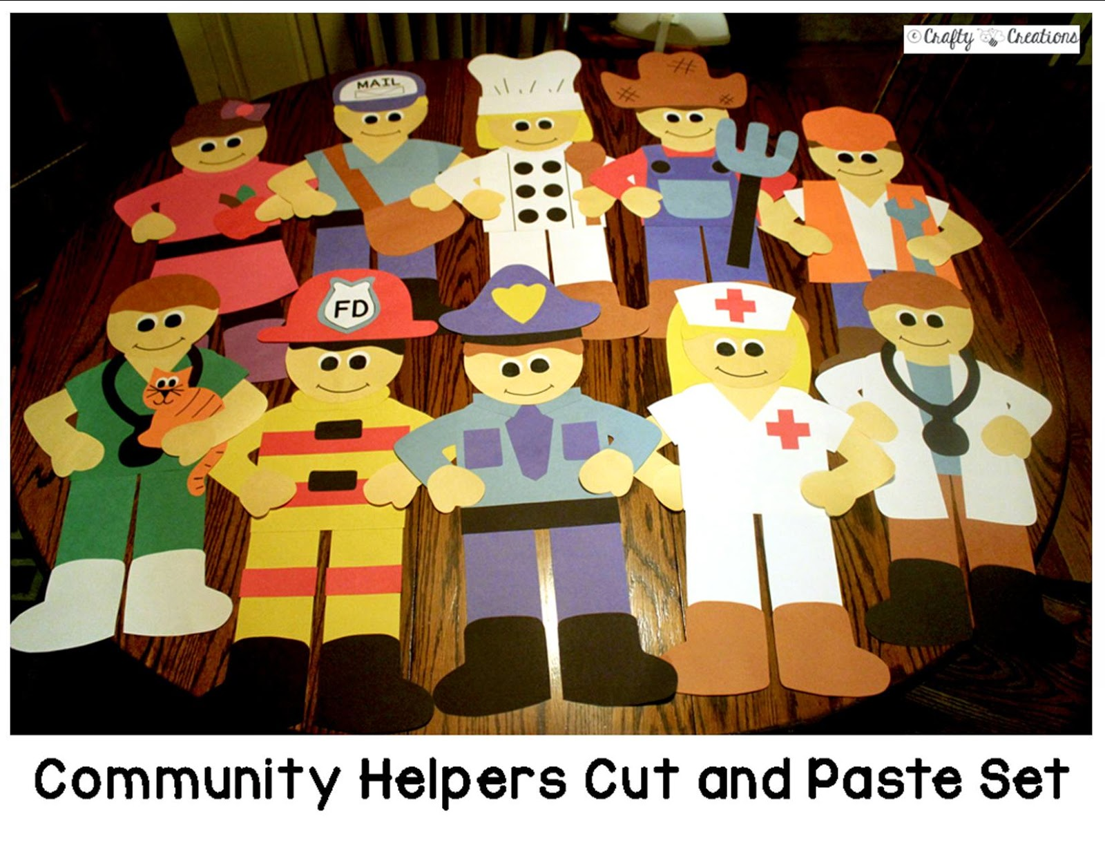 Career Crafts For Preschoolers