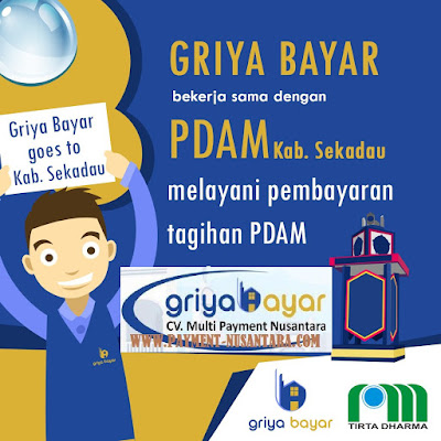 Daftar Griya Bayar PDAM Kabupaten Sekadau Kalimantan Barat