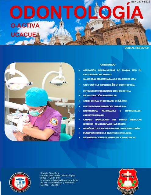 Revista Odontología Activa OACTIVA Volumen 1 N 1