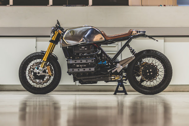 BMW K100 By Bolt Motor Co. Hell Kustom