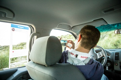Nissan test drive