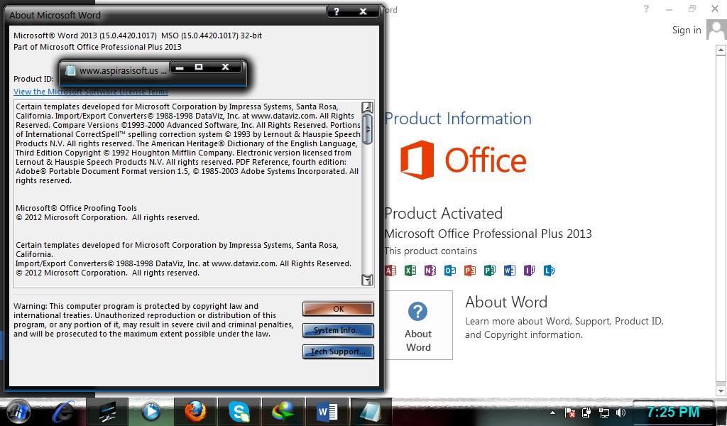 microsoft office serial number