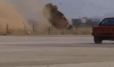 Drag Race Lebanon - Car Crash!