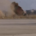 Mitsubishi gets airborne in a massive crash in Lebanon!