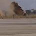 Mitsubishi gets airborne in a massive crash in Lebanon!