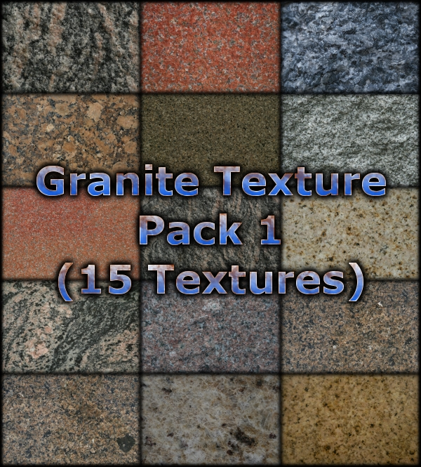 Free Texture Pack for Commercial Use – Granite