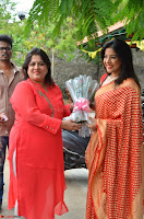 Sakshi Agarwal  in Orange Saree at Inauguration of Handloom And Handicraft exhibition ~  Exclusive 04.JPG