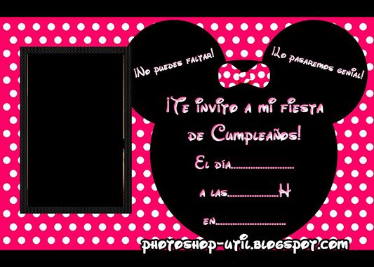 Tarjeta De Invitación De Cumpleaños Para Editar Imagui