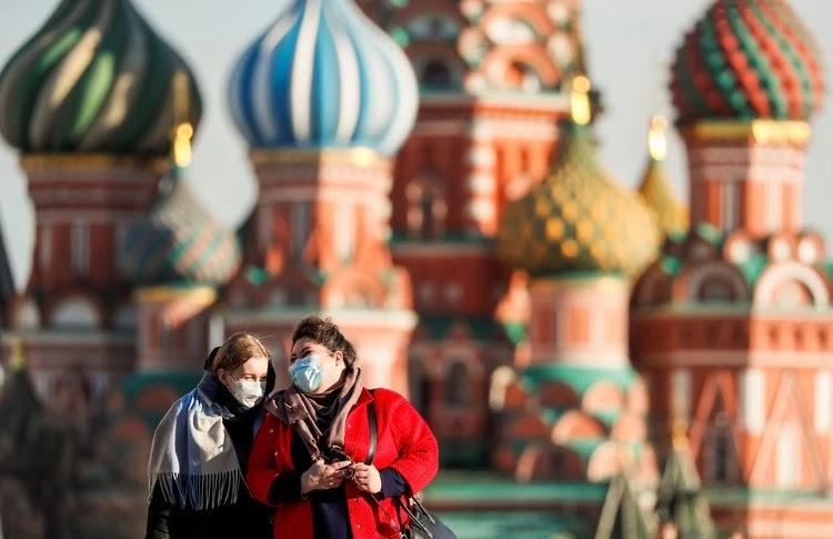 Rusia supera la barrera de los 10.000 contagios