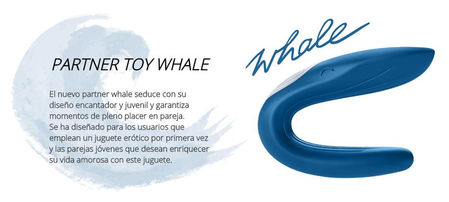 partner Whale vibrador parejas