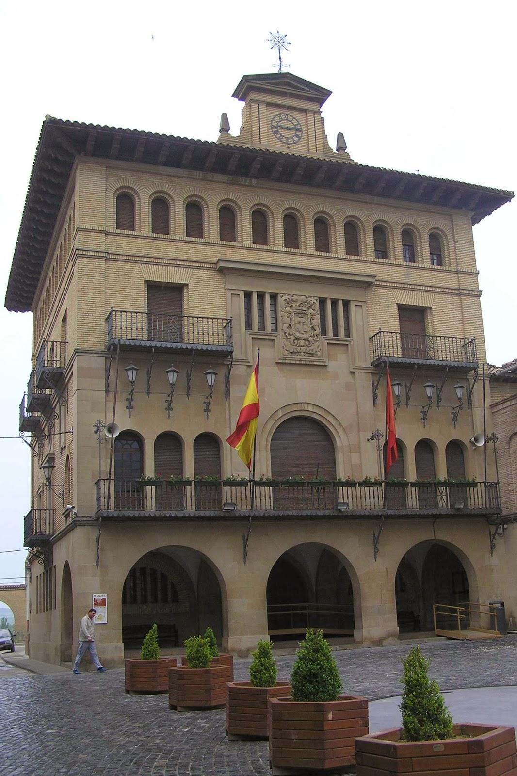 Ayuntamiento de Olite.