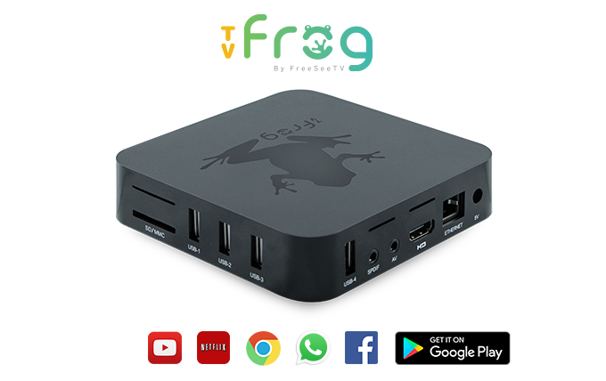 Tv Frog Home Theater Box Francais