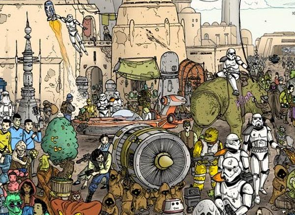 Doctor Ojiplatico. Ulises Farinas. High Res Tatooine. Detalle