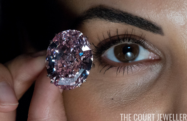 On The Block The Pink Star Diamond The Court Jeweller