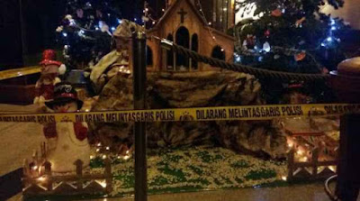 Memperkeruh Toleransi Umat beragama? tersangka pembuat ornamen Natal berlafaz Allah akhirnya ditangkap polisi